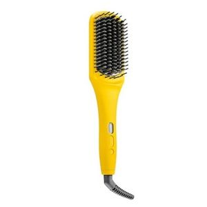 Dry bar brush crush heated straightening brush